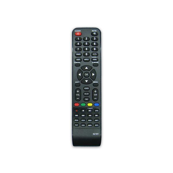 کنترل تلویزیون ال ای دی LED صنام مدل 52181