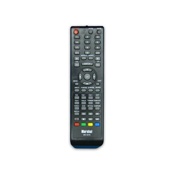 کنترل تلویزیون ال ای دی LED مارشالMARSHAL مدل ME-3216