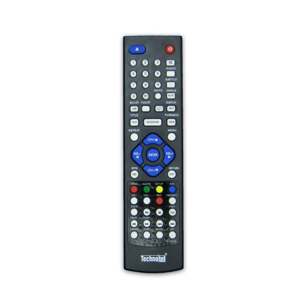 کنترل گیرنده دیجیتال تکنوتل DVD خور اصلی