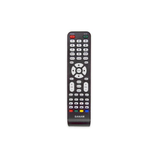 کنترل تلویزیون ال ای دی صنام طرح مارشال 2212 SANAM LED